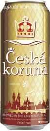Пиво «Ceska Koruna Lager» в жестяной банке