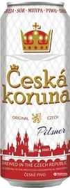 Пиво «Ceska Koruna Pilsner» в жестяной банке