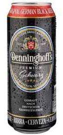 Пиво «Denninghoffs Schwarzbier» в жестяной банке