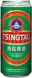 Пиво «Tsingtao» в жестяной банке