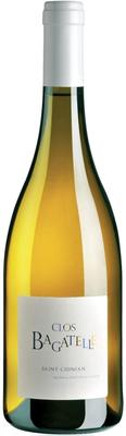 Вино белое сухое «Clos Bagatelle Saint-Chinian Blanc» 2015 г.