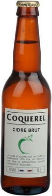 Сидр белый полусухой «Coquerel Brut»