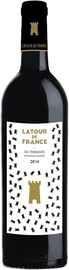 Вино красное сухое «Latour de France Les Terrasses Cotes du Roussillon Villages Vignerons Сatalans » 2014 г.