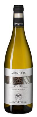Вино белое сухое «Collio Pinot Grigio Mongris» 2017 г.