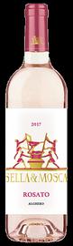 Вино розовое сухое «Sella & Mosca Rosato» 2017 г.