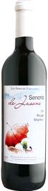 Вино столовое красное полусладкое «Senorio de Jasone»