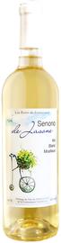 Вино столовое белое полусладкое «Senorio de Jasone»