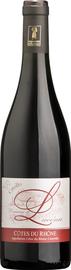 Вино красное сухое «Domaine Lucena Criollo Cotes du Rhone»