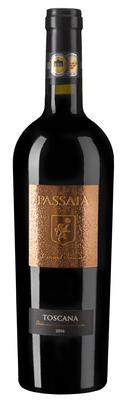 Вино красное полусухое «Passaia» 2016 г.