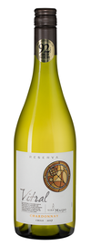 Вино белое сухое «Vitral Chardonnay Reserva» 2017 г.