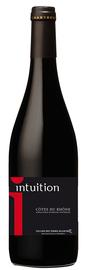 Вино красное сухое «Intuition Cotes du Rhone» 2016 г.