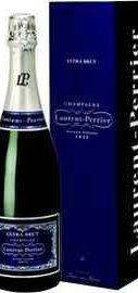Вино игристое белое брют «Laurent Perrier Ultra Brut» в подарочной упаковке