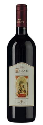 Вино красное сухое «Chianti» 2017 г.