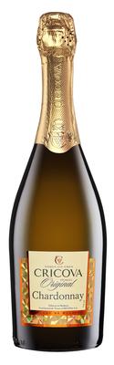 Вино игристое белое полусладкое «Cricova Shardonnay» серия Колио