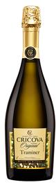 Вино игристое белое полусладкое «Cricova Traminer» серия Колио