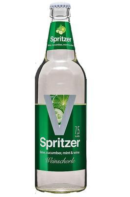 Напиток винный газированный полусладкий «V-Spritzer Cucumber-Lime»