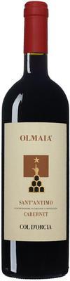 Вино красное сухое «Olmaia Sant Antimo Cabernet» 2013 г.