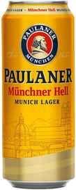 Пиво «Paulaner Original Munchner Hell» в жестяной банке