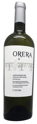 Вино белое сухое «Цинандали»