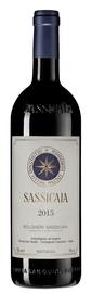 Вино красное сухое «Sassicaia Bolgheri Sassicaia» 2015 г.