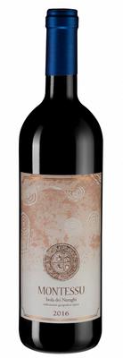 Вино красное сухое «Montessu, 0.75 л» 2016 г.