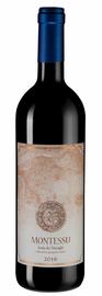 Вино красное сухое «Montessu» 2016 г.