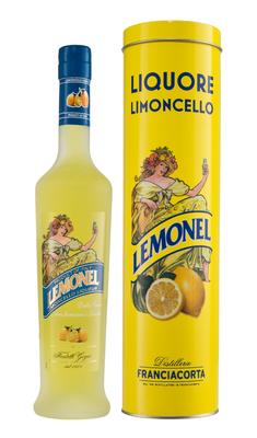 Ликер «Distillerie Franciacorta Lemonel» в тубе