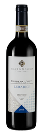 Вино красное сухое «Barbera d'Asti Leradici» 2017 г.