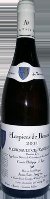 Вино белое сухое «Aegerter Hospices de Beaune Meursault-Genevrieres 1er Cru Cuvee Philippe le Bon» 2011 г.