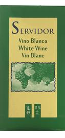 Вино белое полусладкое «Servidor (Tetra Pak)»