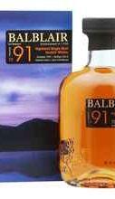 Виски шотландский «Balblair 1991» в подарочной упаковке