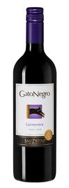 Вино красное сухое «Gato Negro Carmenere» 2018 г.