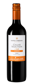 Вино красное полусухое «Cellar Selection Carmenere» 2018 г.
