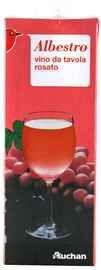Вино розовое сухое «Albestro Rosato»