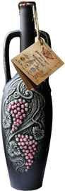 Вино красное сухое «Милдиани Мукузани» 2015 г., в керамическом кувшине