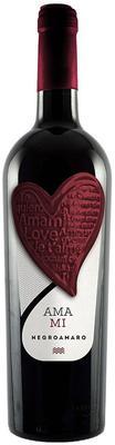 Вино красное полусухое «Ama Mi Negroamaro»