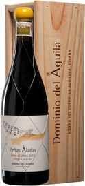 Вино красное сухое «Penas Aladas Gran Reserva Ribera del Duero» 2012 г. в  деревянной подарочной упаковке