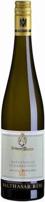 Вино белое сухое «Balthasar Ress Hattenheim Nussbrunnen Rheingau Riesling GG trocken » 2014 г.