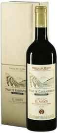Вино красное сухое «Pago de Carraovejas El Anejon de la Cuesta de Las Liebres Ribera del Duero» 2009 г. в подарочной упаковке