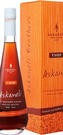 Коньяк грузинский «Askaneli VSOP» в подарочной упаковке
