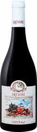 Вино красное сухое «Artwine Saperavi Askaneli Brothers»