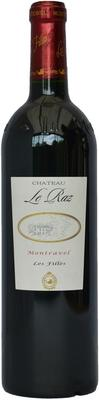 Вино красное сухое «Chateau Le Raz Les Filles Montravel» 2009 г.