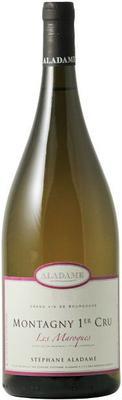 Вино белое сухое «Aladame Montagny 1er Cru Les Maroques, 1.5 л» 2015 г.