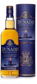 Виски «Dunadd Scotch Whisky 12 YO In Gift Tube» в подарочной упаковке