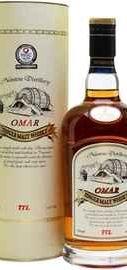 Виски «Omar Single Malt Whisky Sherry Type» в подарочной упаковке