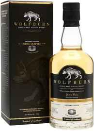 Виски шотландский «Wolfburn Northland» в подарочной упаковке