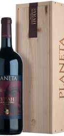 Вино красное сухое «Syrah Planeta» 2010 г., в деревянной подарочной упаковке
