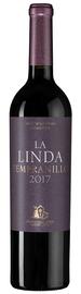Вино красное сухое «Tempranillo La Linda» 2017 г.