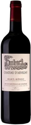 Вино красное сухое «Chateau d'Arvigny» 2016 г.