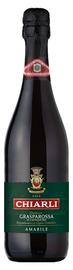 Вино игристое красное полусладкое «Chiarli 1860 Lambrusco Grasparossa di Castelvetro»